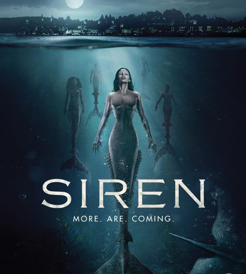 I love the sea  so I can't wait to start watching this series @SirenTV #season2 w/ @ElinePowell #AlexRoe #mermaids #sealife #morearecomingpic.twitter.com/VIT3nEXH12