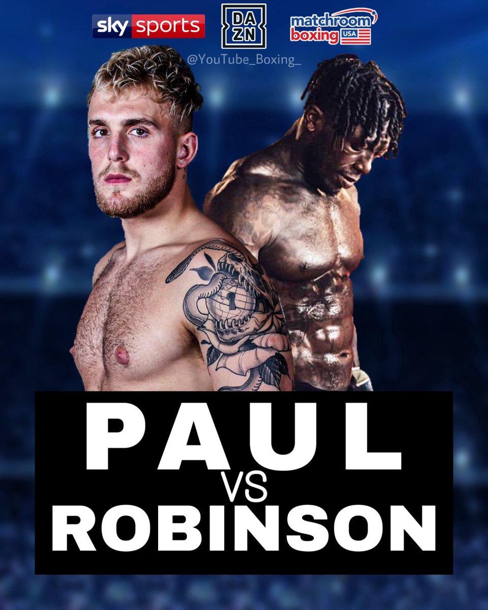 Jake Paul Vs Nate Robinson Poster - Jake Paul Posts Video ...