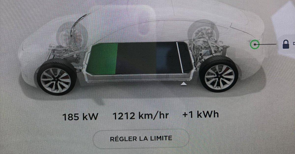 Bon faut être honnête @IONITY_EU sur une Model 3 ça envoie du lourd.⚡️ https://t.co/qwa6wLAAqg