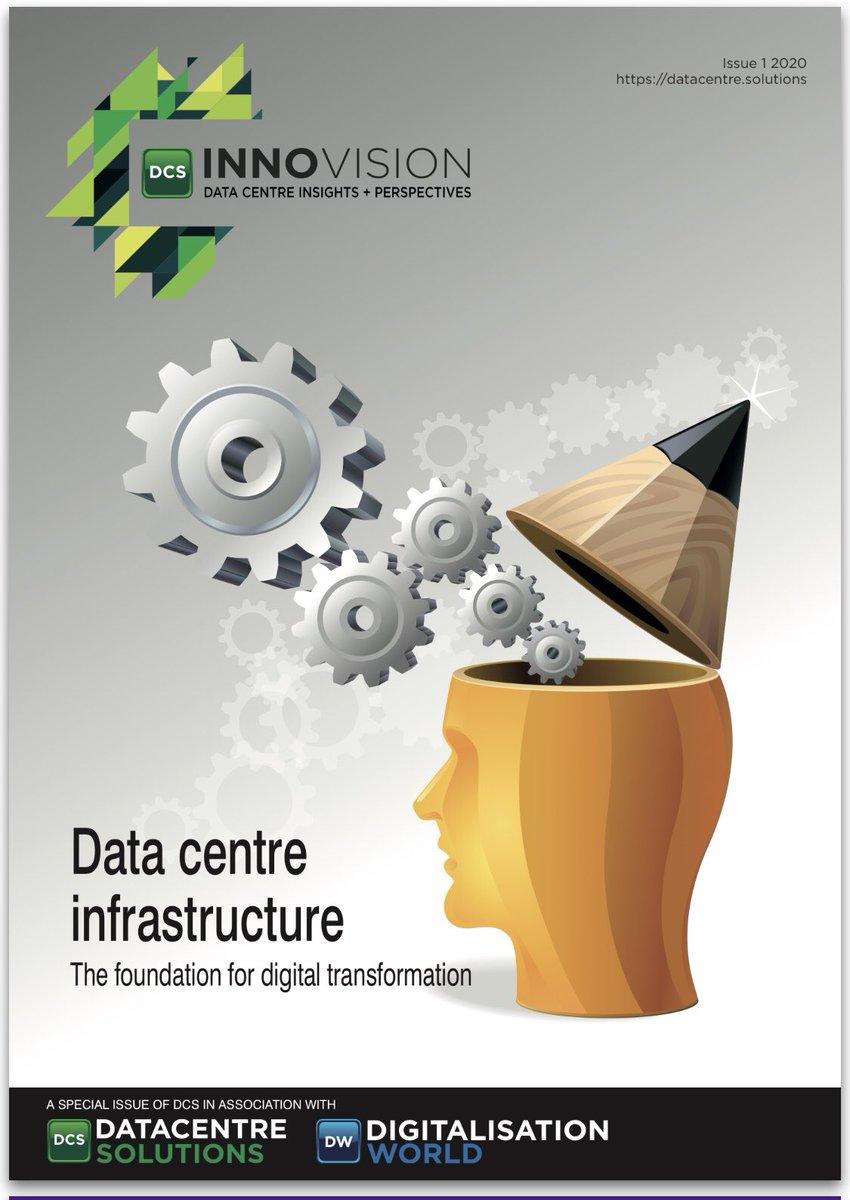 يشرفي أكون جزء من كُتّاب الإصدار الأول السنوي لمجلة Innovision العالمية لمراكز البيانات. #DataCenter #Digitization رابط المجلة للتفاصيل: