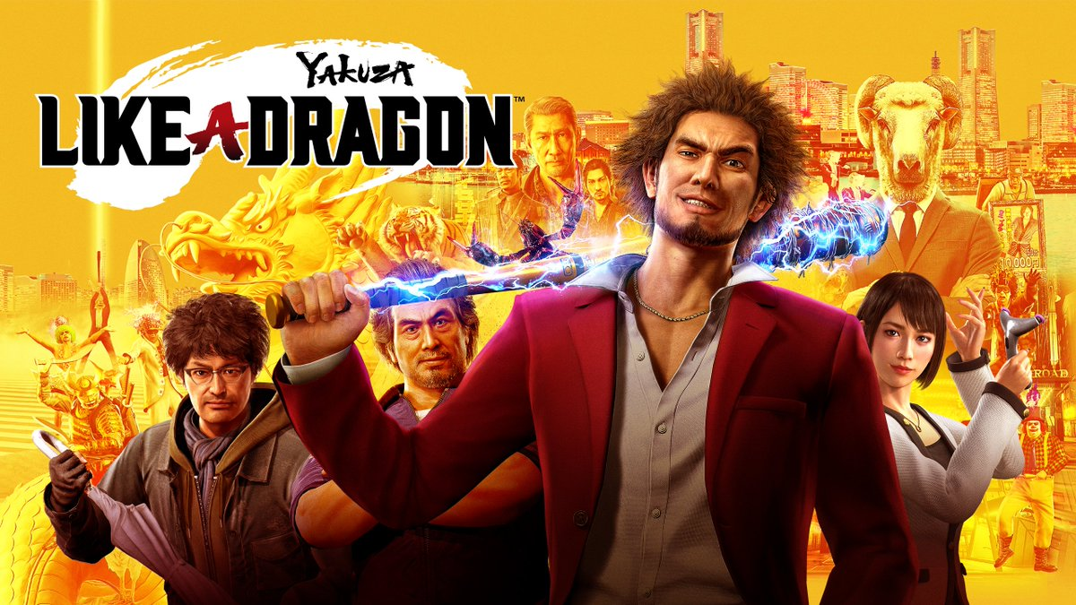Yakuza Like a Dragon Heroes of Tomorrow Gameplay Trailer