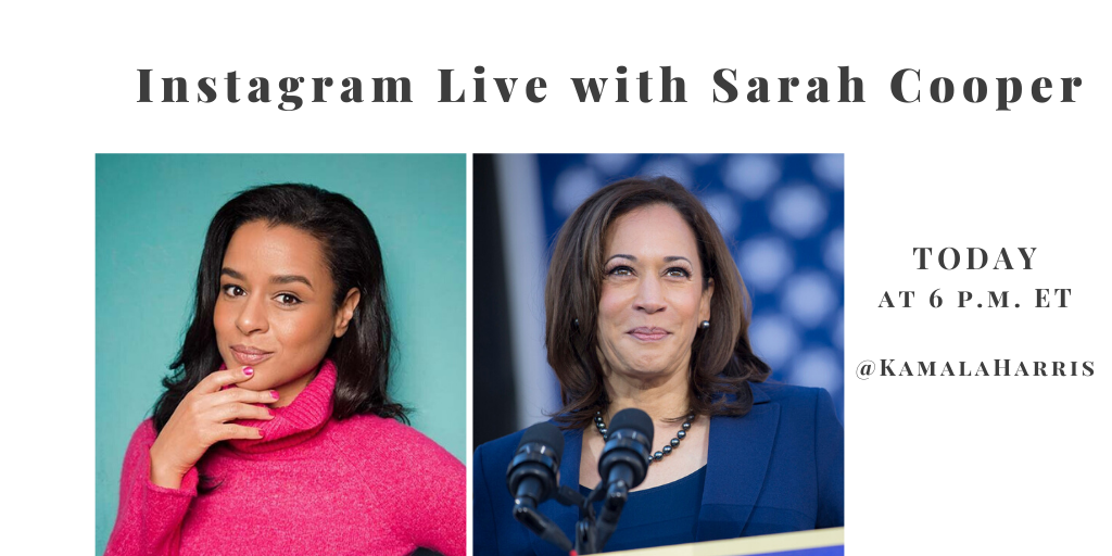 Going live on Instagram at 6pm ET today with the brilliant @sarahcpr. You won't want to miss this.