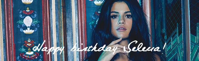 Sincerely Selena - Happy birthday Selena! -