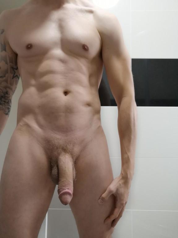 Male Naked Guy Selfie