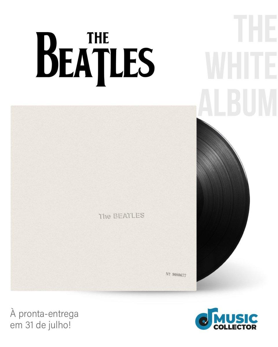 Atenção, collectors! Cadê os fãs da maior das maiores bandas?   The Beatles - The White Álbum  Aguarde para conferir as nossa oferta do já considerado um dos maiores discos de todos os tempos.  #thebeatles #thewhitealbum #thebeatlesforever #thebeatlesfans  #vinil #vinillovers pic.twitter.com/k5sLkMgwFf