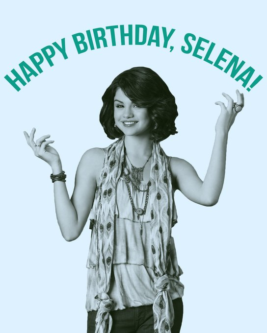 Happy birthday to Selena Gomez, our favorite wizard of Waverly Place