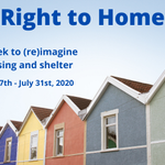 Image for the Tweet beginning: Right to Home: a week