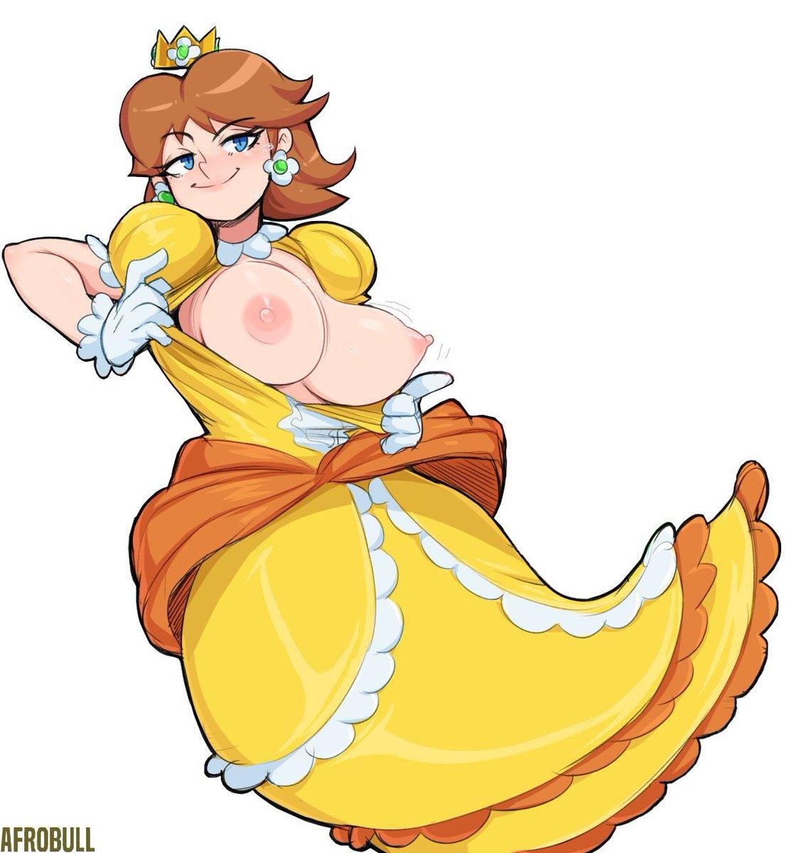 Free princess daisy xxx toons and porn comics