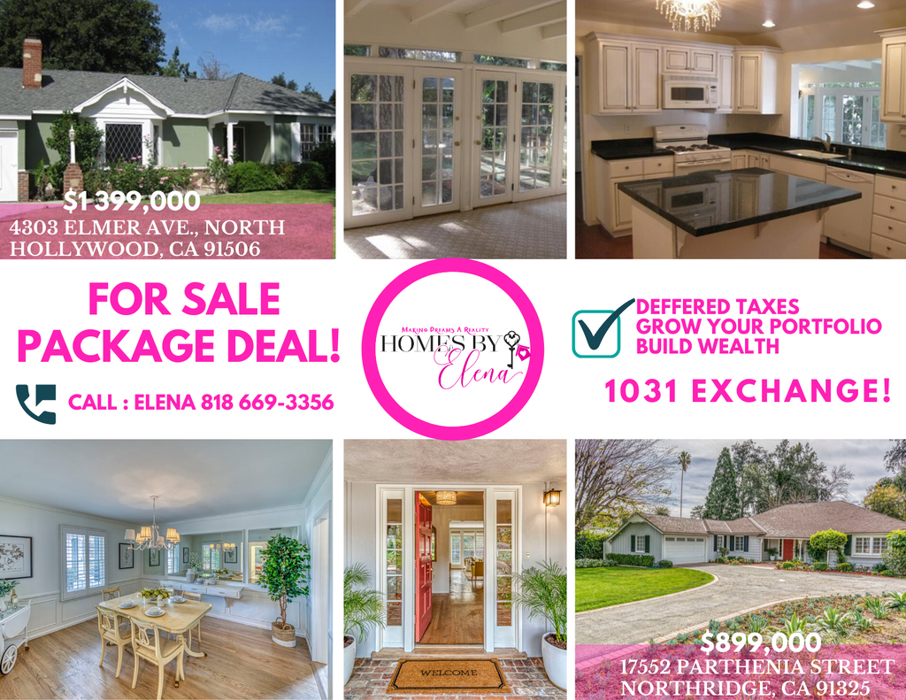 Don't miss this package deal we have for our stunning houses🏡 in California. Contact us today before it's too late!  We are open to discussing selling property separately. 😊 For serious offers only!    #1031exchange #buyers #sellers #saveontaxes #realty #brokerage #California https://t.co/IIRFYyPnxA
