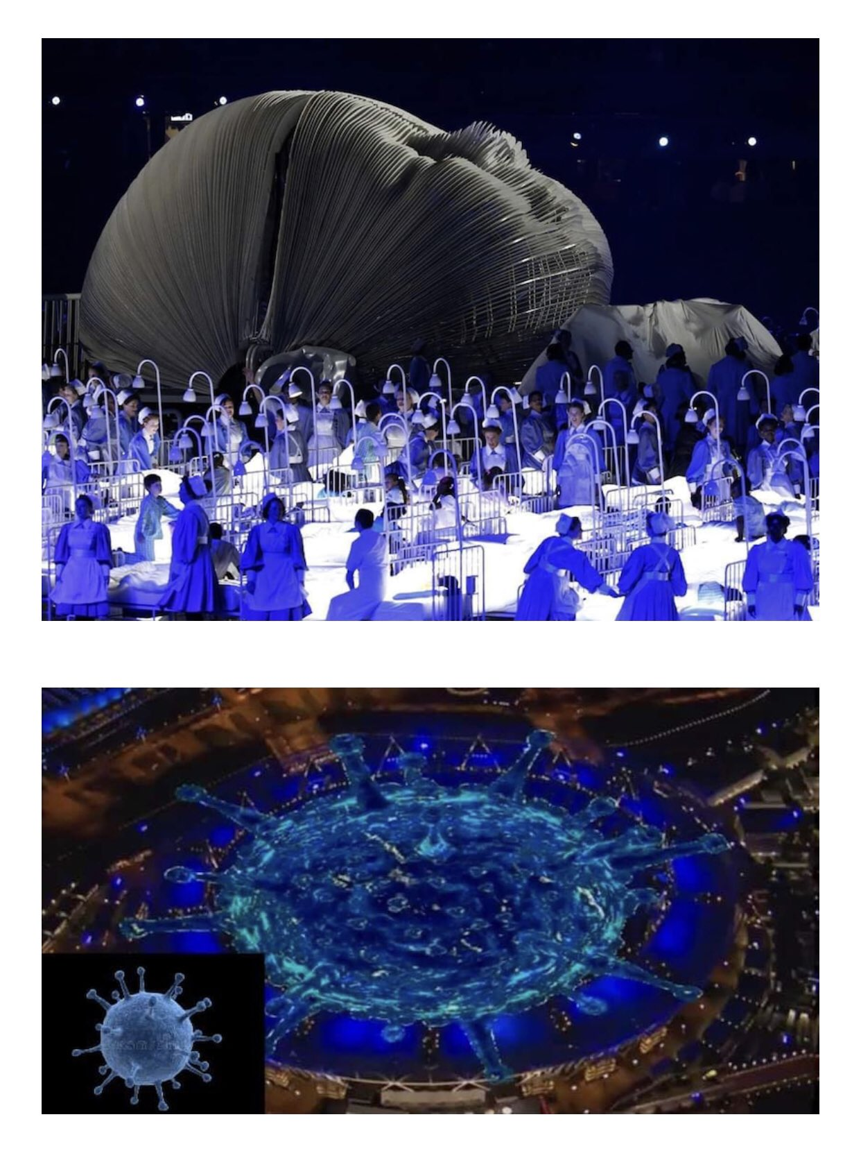 ロンドン オリンピック 開会 式 コロナ