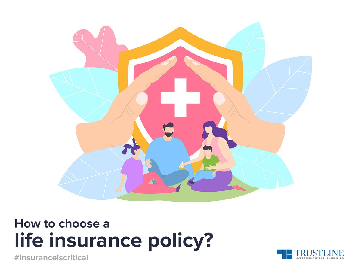 How to choose a life insurance policy?  Know your needs. Is it a term or whole-life cover? Is it a child plan, ULIP, money back, endowment, pension, or annuity plan? Check the claim settlement ratio and the riders.   Or simply, chat with us.  #insuranceiscritical https://t.co/4KGUTqSz9l
