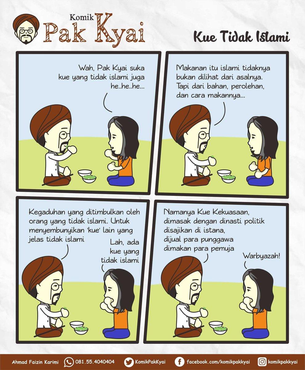 Komik Pak Kyai ~ edisi Kue Tidak Islami https://t.co/BsUeqcDA5n