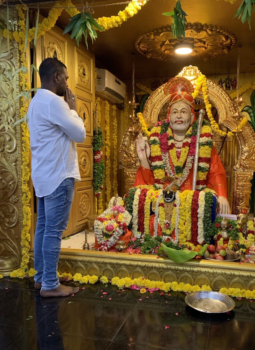 Happy Thursday everyone! I pray Raghavendra swami for all your dreams to come true 🙏🙏
