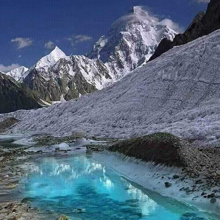K2 the king of mountains also known as Savage Mountain in Godwin and Baltoro glacier Baltistan Northern Pakistan. #baltistan #gilgitbaltistan #skardu #khaplu #shigar #karakorum #Baltoro #worldadventuretourss #mountaineering #trekking #hiking #climbing #b… https://t.co/BoNxyFca1j https://t.co/dMhVXGugbN