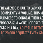 Image for the Tweet beginning: #adfraud is a big issue.