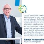 Image for the Tweet beginning: Den Finanzrahmen beschreibt CEO Rainer