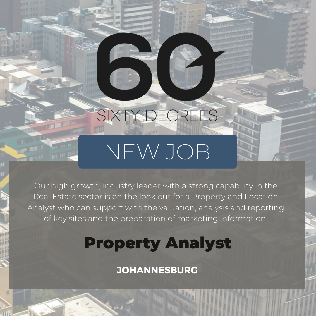 test Twitter Media - New #JobAlert - Property Analyst  Our high growth, industry leader with a strong capability in the Real Estate sector is on the lookout for a Property and Location Analyst who can support with the valuation, analysis and reporting of key sites and the prep of marketing info. https://t.co/9r3yCfDPX5