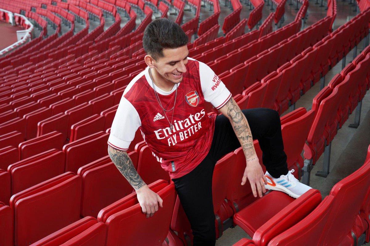 Nueva camiseta! / New home jersey! 🔴⚪️ @adidasfootball @arsenal #readyforsport #createdwithadidas