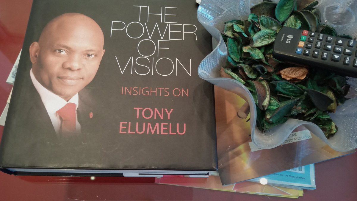 I recommend this.  Great insight into @TonyOElumelu https://t.co/75y4XFWPgp