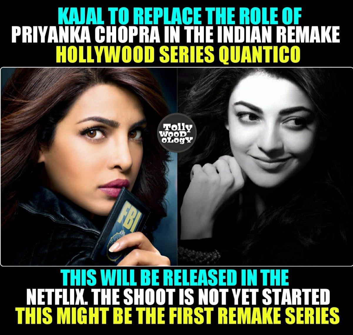 Tollywoodology On Twitter Indian Remake Of Quantico By Kajal Netfilxindia Kajal Tollywood Bollywood Quantico Kajaltollywod Priyankachopra Priyanka Kajalaggarwal Https T Co 1eakl7mukg