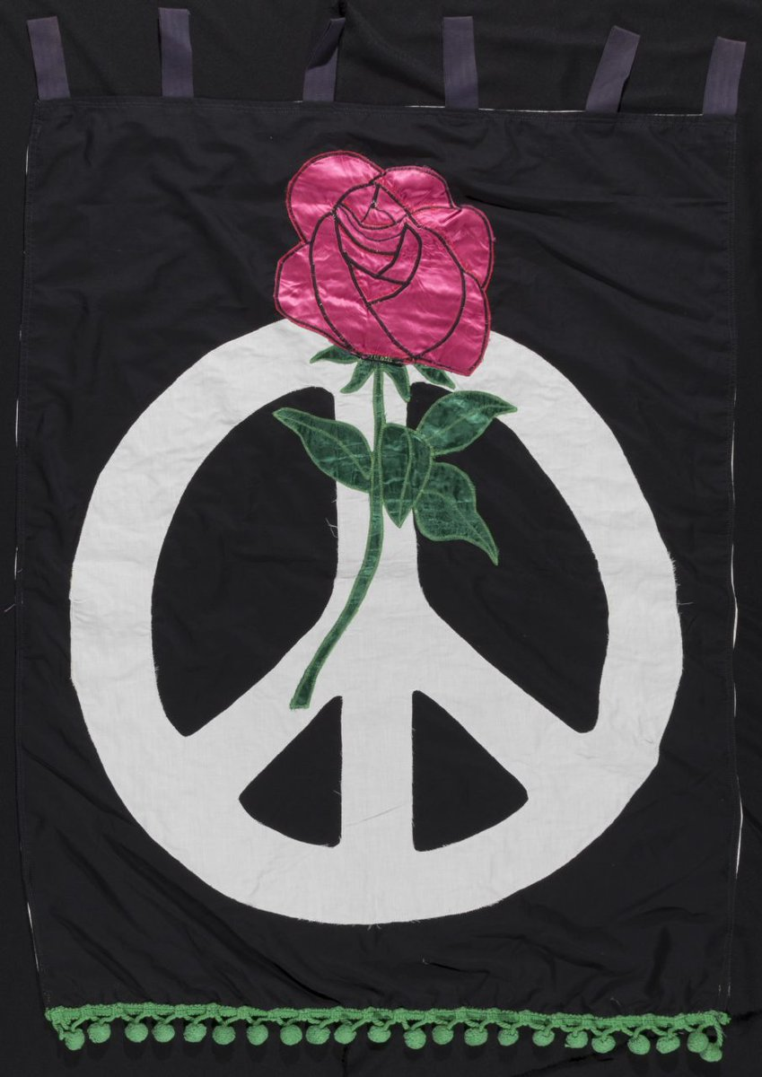 Try the #PMCreativeChallenge this week and design your own peace symbol?  Find out more about the history of the nuclear disarmament symbol, the original designs for which can be found in the Commonweal Archives, here:    #peace #peacesymbol #CNDsymbol https://t.co/MJi1JCrPGS