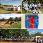 #ThrowbackThursday Looking back five years ago to when our Pre-Prep first launched. Who remembers the diggers breaking ground and the balloon release? Our wonderful Year 1 pupils helped local artist Angela Rossi create a masterpiece to commemorate the event. #memories💙😊