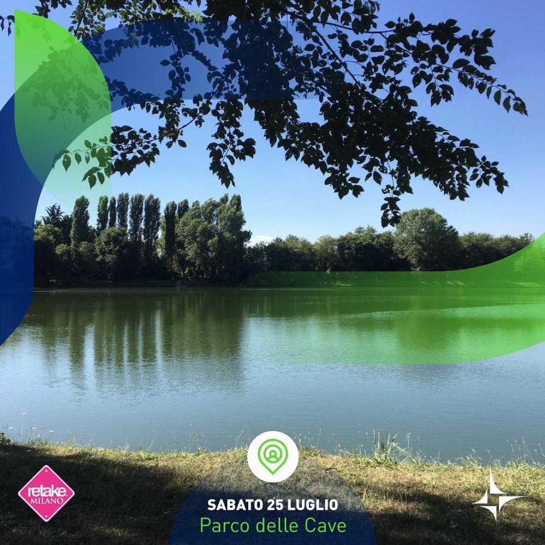 🌟 Sabato 25 luglio non prendete impegni, c'è l'appuntamento mensile di #GhePensiMI_Green ⏰ Ci vediamo alle 10:00 al Parco delle Cave di Milano, per fare insieme attività fisica e plogging @retake_milano  #SorgeniaGreenSummer  Info e prenotazioni ➡️https://t.co/BfbNhWZb4q https://t.co/6jKkgYdltu