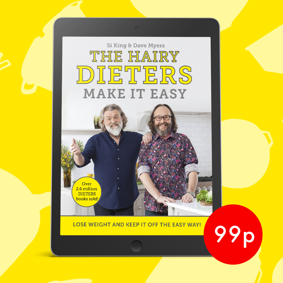 A fantastic collection of low cal recipes that make it easier than ever to stick to and enjoy a healthier diet, with trademark of knock-out flavours and hearty ingredients. Download The Hairy Dieters Make it Easy for only 99p in eBook!! https://t.co/4nNpy1jv7t #HairyBikers https://t.co/P0eiE8Rvew