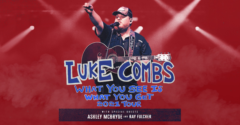 The Luke Combs shows have been rescheduled to November 4 and 5, 2021.  Tickets will be honored for the respective new dates or if you can't make it, you'll be able to request a refund. Ticketmaster will email ticket holders directly.  For details, visit: https://t.co/Z8wxVZjIIL https://t.co/6c7ROHL7H2