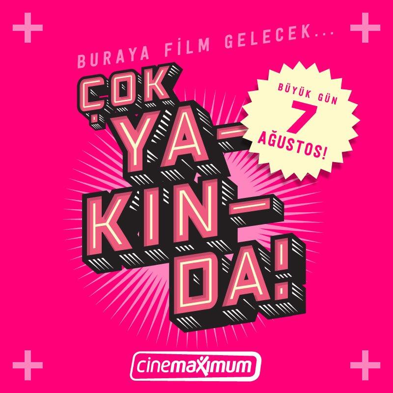 Geri sayım başladı! Gordion Cinemaximum, çok yakında sizlerle yeniden buluşuyor! @cinemaximum https://t.co/OAx7Jkprkh