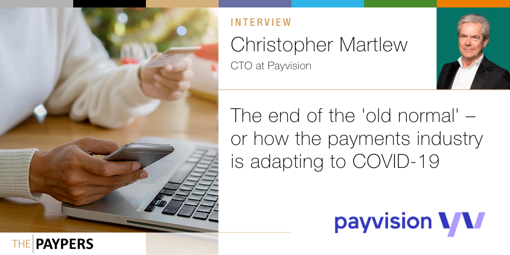 Christopher Martlew, CTO at @payvision, shares key insights regarding the challenges that businesses encounter while adapting to the 'new normal' imposed by the #COVID19 outbreak >> https://t.co/wUwTNtTC49 #contactless #payments https://t.co/D2qj8cze7q