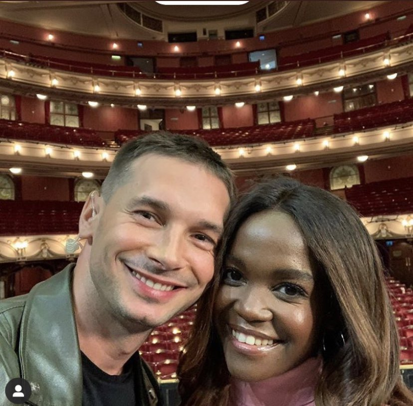 We can announce that @OtiMabuse tour 'I AM HERE' will finish with special Gala Night - at @LondonColiseum on June 14th 2021. @mariusiepure will be dancing with her across the tour. ✨#iamhere