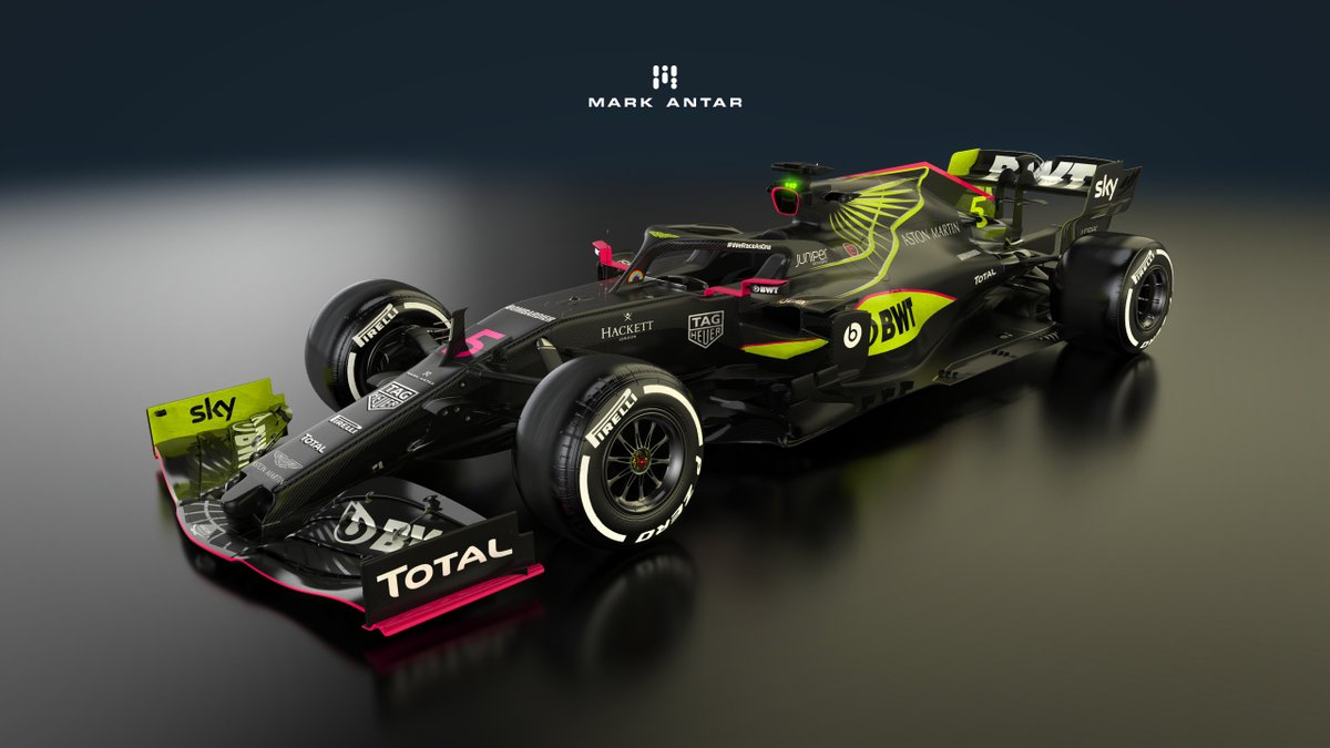 Mark Antar Design On Twitter 1 3 Some Still Shots Of My 2021 Aston Martin Livery Concept Astonmartin F1 F12021 Liverydesign Formula1 Racingpoint Https T Co Muvwlortcs