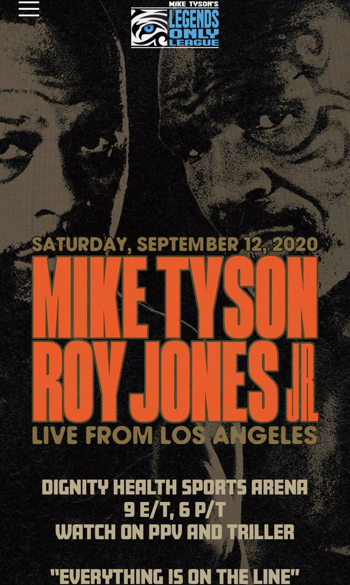 michael benson on twitter poster for mike tyson vs roy jones jr poster for mike tyson vs roy jones jr