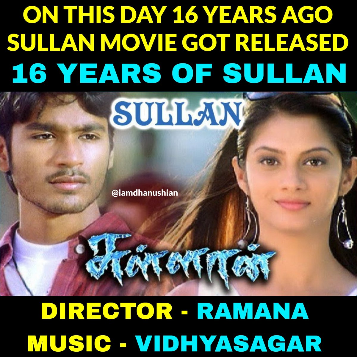 Vidyasagar songs ❤️😍🔥  #Sullan #Dhanush #Manivannan #Pasupathy #SindhuTolani #EaswariRao #Sanghavi #Ramana #Vidyasagar   #16YearsOfSullan Waiting for #JagameThandhiram https://t.co/YMkossSBHb