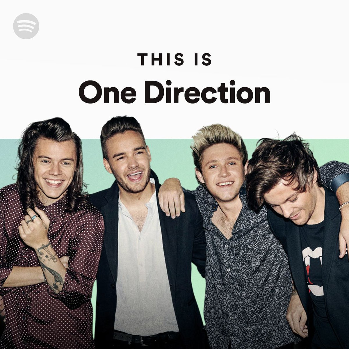 Search 'This is One Direction' on Spotify to stream the enhanced playlist including videos now! https://t.co/6VR81CqPBH https://t.co/USe9pfLW1H