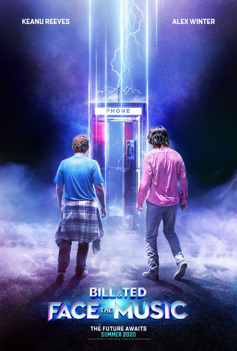 BREAKING: #BillAndTedFaceTheMusic to skip theaters and drop on VOD September 1st.  Big move! Curious to see how many other movies are forced to follow, since it is unclear when all theaters will be reopened. pic.twitter.com/LGmpPnHoq5