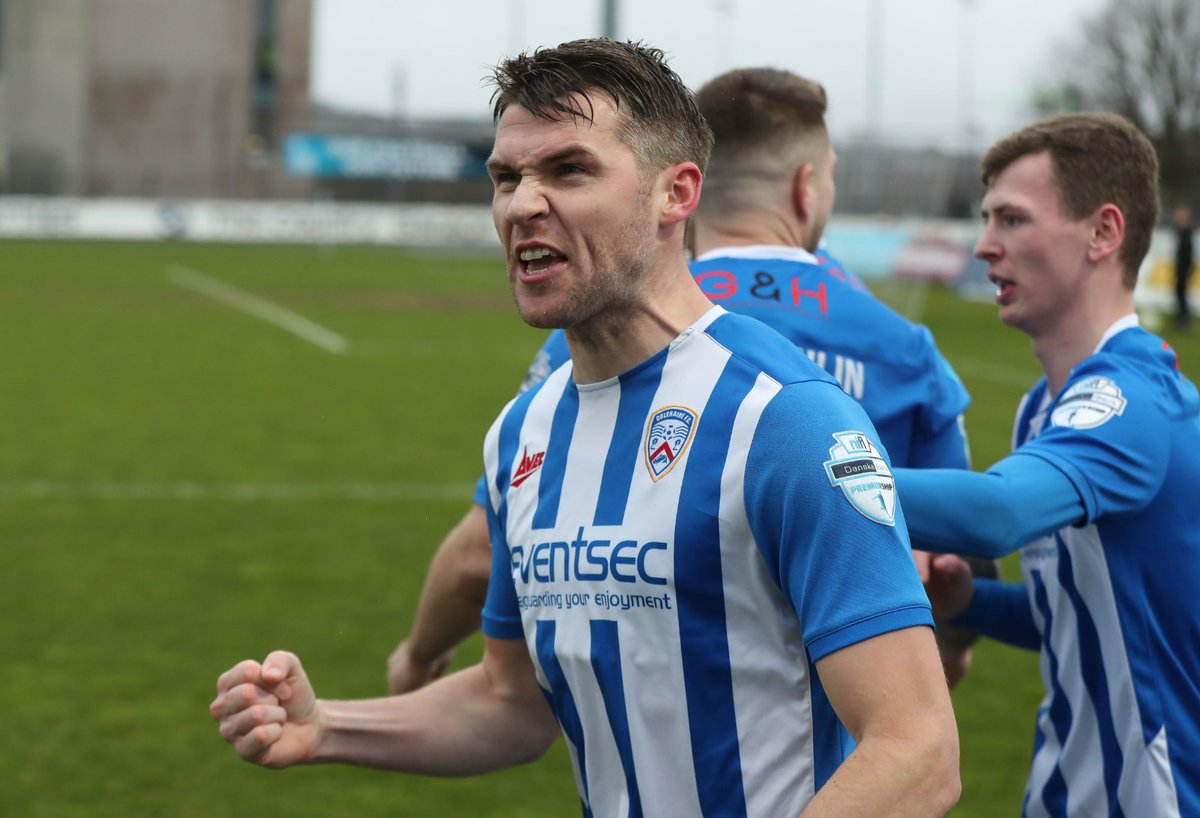 "Coleraine FC on Twitter: ""It is the midfield maestro Stevie Lowry! 😎… """