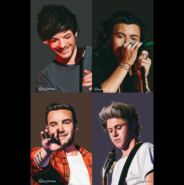 I made another artbook for the #OTRAtour. #10YearsOfOneDirection