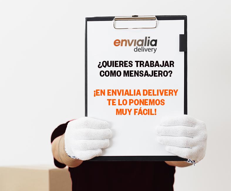 ¿Buscas #empleo? Si estás interesado en trabajar en el mundo de la #logística y el #transporte, apúntate a nuestro programa envialia delivery y sé uno de los primeros en formar parte de la nueva generación de #repartidores.   Regístrate: https://t.co/ojF4b4kseP https://t.co/Fj3vm2r07J