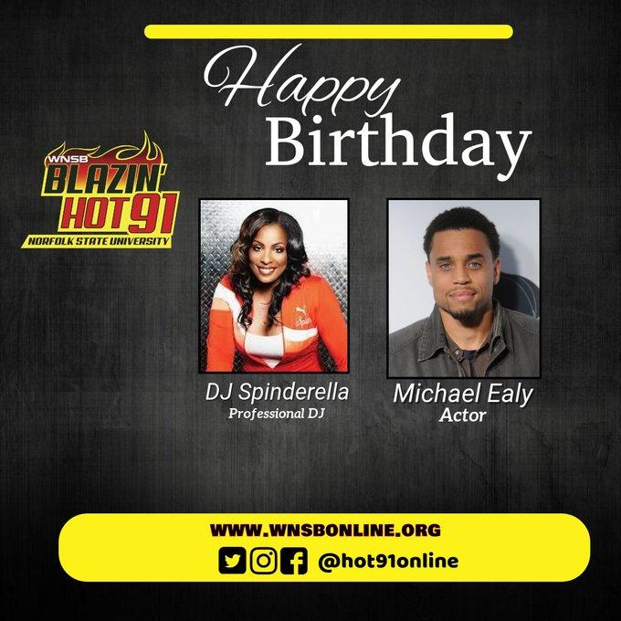 Happy Blazin\ Hot Birthday to Michael Ealy & Spinderella