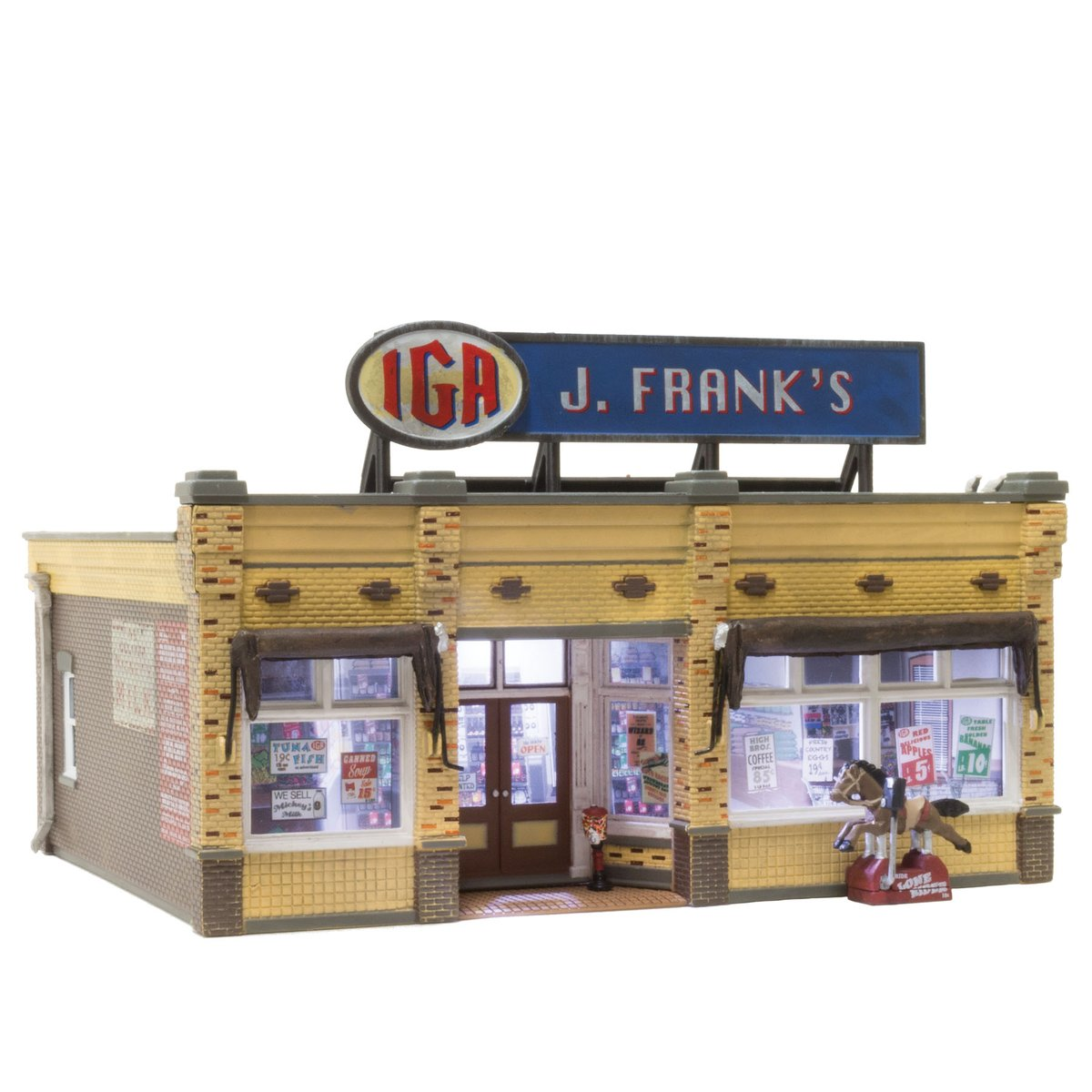 J. Franks Grocery is a great addition to any layout. Available for N, HO and O scales, the local grocer welcomes everyone with open arms and a jolly atmosphere. https://t.co/ljpA2izyEO