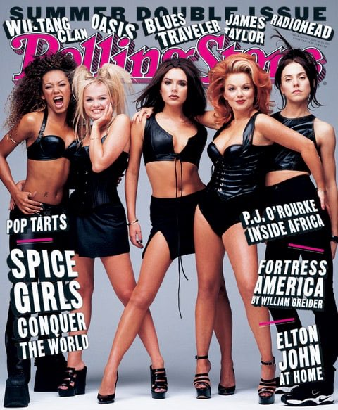 Summer of '97 was pretty special! Wannabe and Spice were at number 1 in America!  Us on the cover of @RollingStone Magazine 🇺🇸✌️  #throwback #tbt #throwbackthursday #rollingstone #spicegirls #wannabe #spice https://t.co/6Vi2mO0kJO