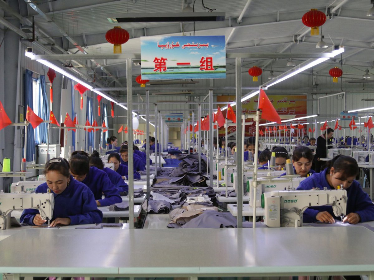 Today over 190 organizations called on apparel brands to cut ties w/suppliers complicit in the use of forced labor in #Xinjiang, a region where proper labor due diligence is impossible due to pervasive surveillance & intimidation. #EndUyghurForcedLabour enduyghurforcedlabour.org