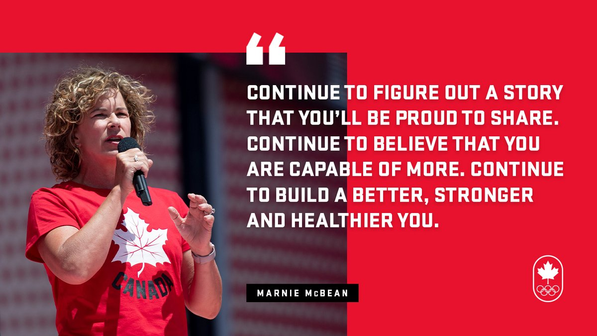 With one year to go until #Tokyo2020, Chef de Mission Marnie McBean wrote a letter to #TeamCanada 🇨🇦 athletes ✍️  Read it here 👉https://t.co/dQ3gg49KsW https://t.co/7EAN8E3hFp