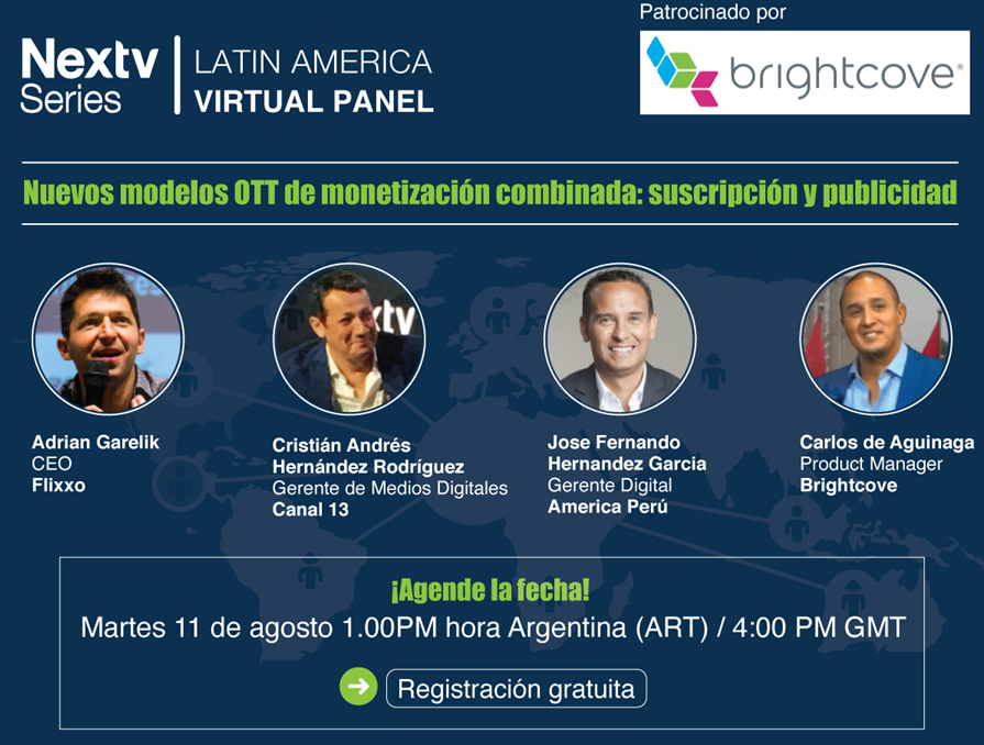 Follow our CEO @adriangarelik in this panel about new monetisation models for OTT platforms. #GVOD #Microseries