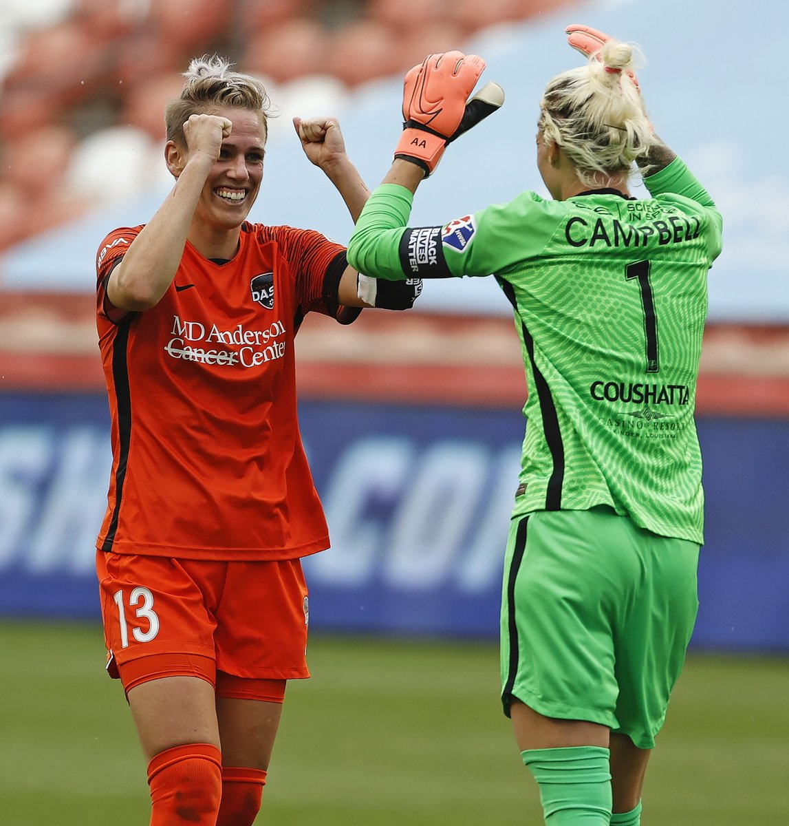 Oh hey, since we have you here, the @NWSL Challenge Cup Championship is Sunday at 12:30 pm ET on CBS!  @HoustonDash 🆚 @chiredstarsPR