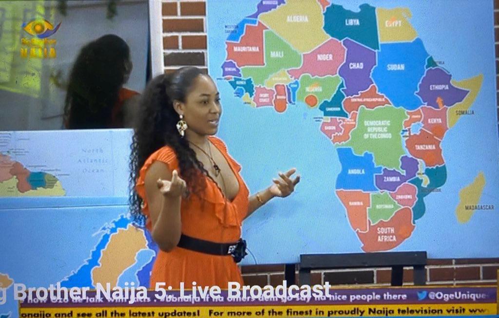 Erica dey always blow my mind mehn! She has been to:  • Niger state • Lagos • Abuja • Oyo • Cross River  • Enugu • Dubai • France • Italy • Greece  • United Kingdom  • Spain  • Germany  • Turkey  #BetwayBbnaija #bbnajia2020pic.twitter.com/5UnsgqX9mr