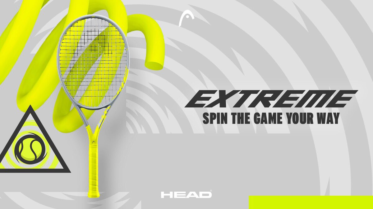 Time to play test the new Extreme at your local retailer! #SpinTheGameYourWay #TeamHEAD #HEADExtreme https://t.co/Uac3SSCVgM