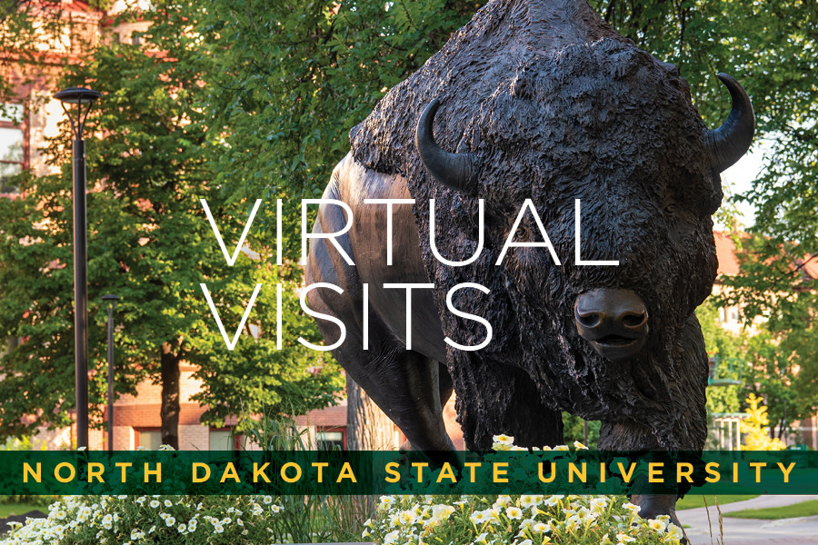 Join us on August 7 at 1 p.m. for a Virtual Summer Visit Day.  Make your reservation online at https://t.co/sm9uG479p6 and click on Summer Visit Day.  #ExperienceNDSU https://t.co/zjq7BM2B1Q